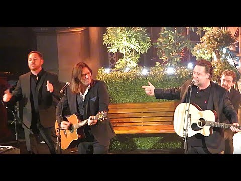 Everything I Touch, Indoor Garden Party (Russell Crowe, Alan Doyle, Scott Grimes, et al), London