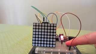 48x8 SCROLLING MATRIX LED DISPLAY USING ARDUINO