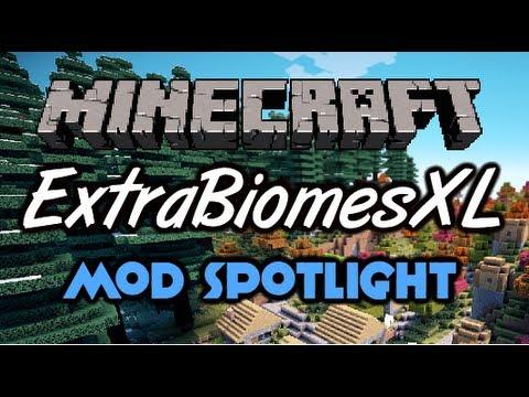 Мод ExtrabiomesXL для Minecraft
