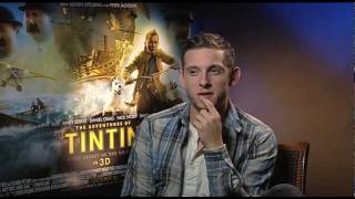 Jamie Bell Interview -- The Adventures of Tintin