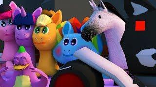 Мои цветные пони: Флаттернатор (3D-пародия MLP) (2)