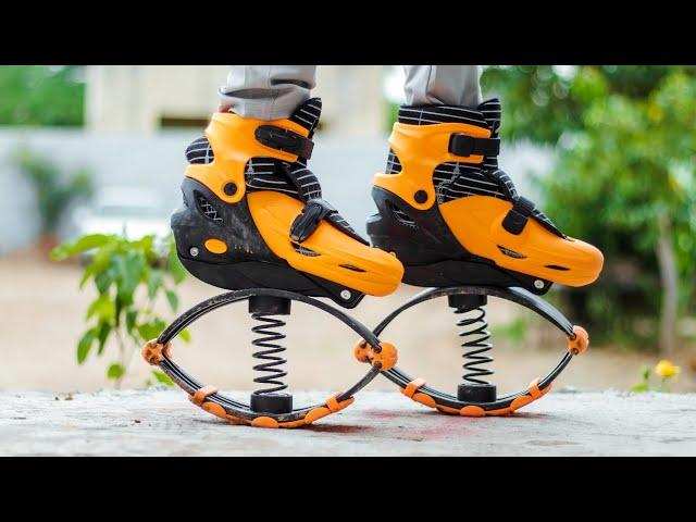 स्प्रिंग वाले जुते - We Try Spring Shoes Will It Work ? - MR. INDIAN HACKER