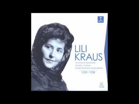W. A. Mozart : Adagio & Rondo K. 617 (Lili Kraus et al. 1955)