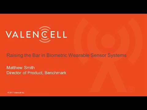 Webinar: Raising the Bar in Biometric Wearable Sensor Systems