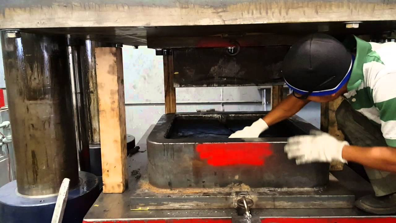 Rubber Box Forming Stainless Steel Sheet Youtube