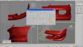 3D Max Бампер на Honda integra делаем сечение бампера1.avi(Видео о том как сделать сечение модели и сделать из этого массив, рассматривается вариант Бампера автомоби..., 2010-05-07T05:18:53.000Z)