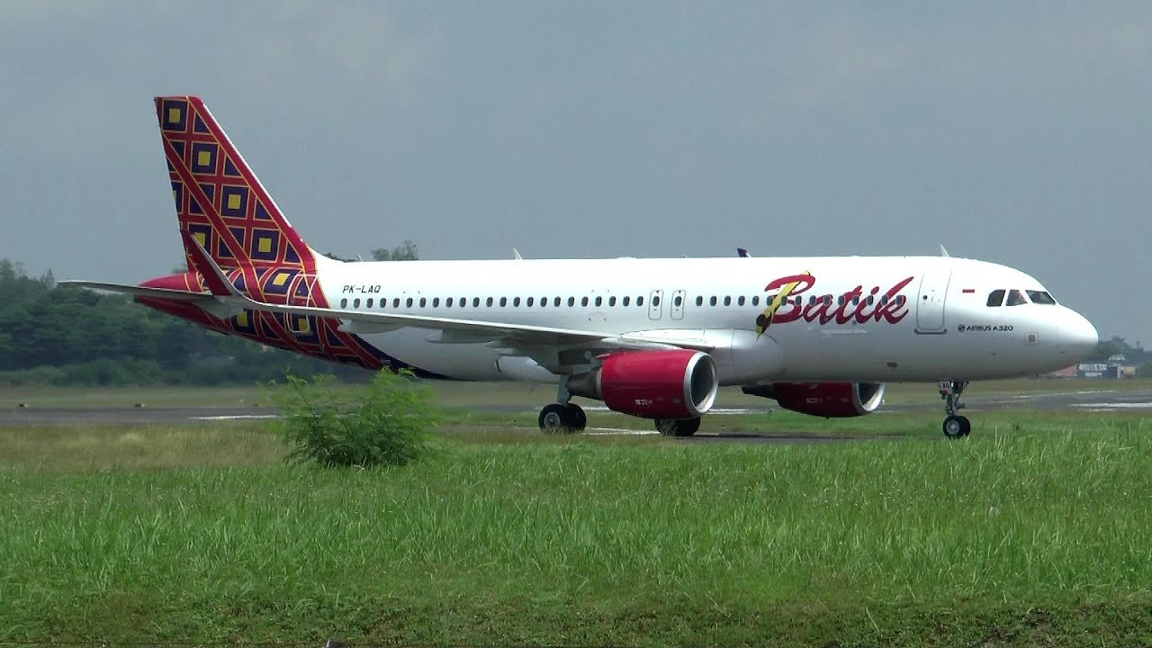 HD Batik Air landing  takeoff at Yogyakarta Adisutjipto Airport