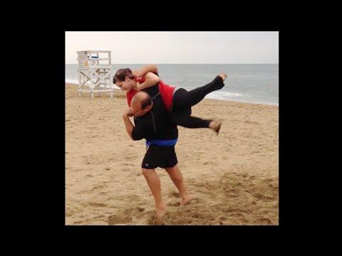 Swing Dance Aerials on the Beach - SwingVirginia