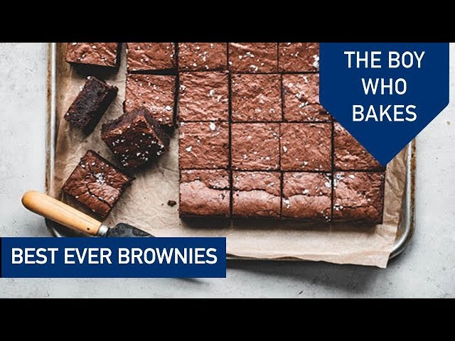 Best Ever Chocolate Brownies - The Boy Who Bakes