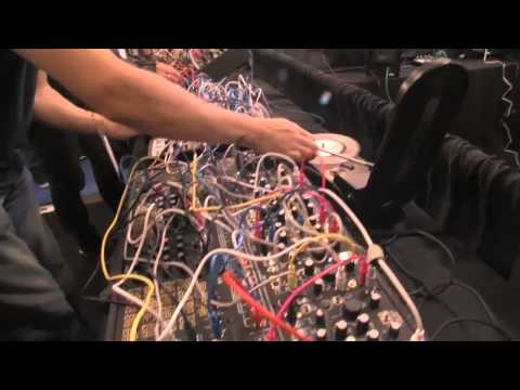 NAMM 2015: Richard Devine and Surachai at the Make Noise Booth