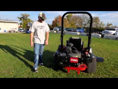 Toro Z Master Commercial 2000 Series Zero Turn Lawn Mower Review