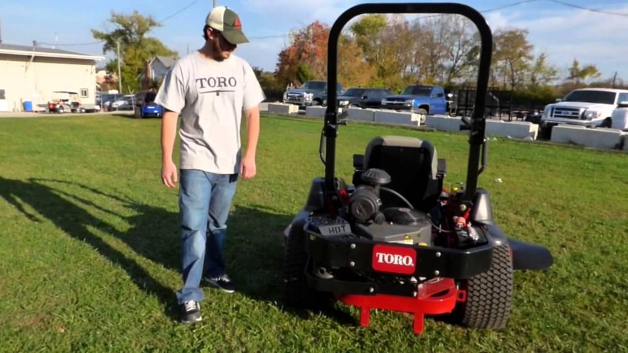 Toro Z Master Commercial 2000 Series Zero Turn Lawn Mower