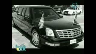 """El automóvil  más seguro del mundo // """"La Bestia"""" Barack Obama car"""