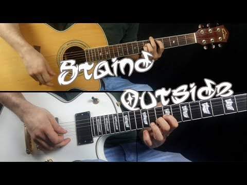 Staind Outside Guitar Cover All Guitars Short Version