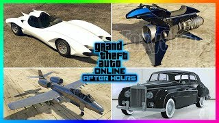 GTA Online After Hours DLC Update ALL 20 NEW Unreleased Vehicles - Prices, Release Dates & MORE!