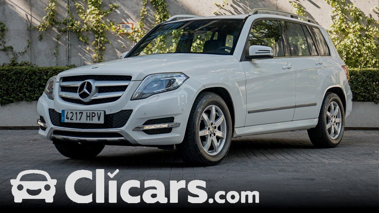 mercedes clase glk glk 220 cdi 4m blue efficiency clicars youtube. Black Bedroom Furniture Sets. Home Design Ideas