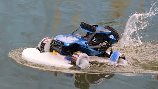 How to make a remote control water pump car
