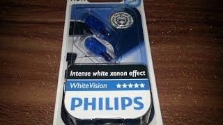 видео Philips w5w 4500k