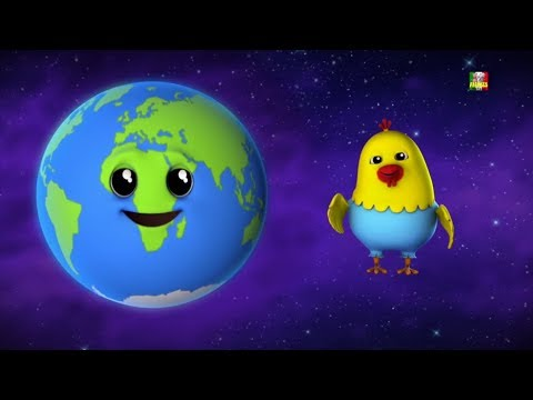 pianeti canzone | filastrocche | impara i pianeti | cartone animato | Rhyme For Kids | Planets Song