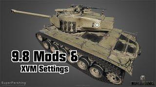 9.8 Mods & XVM Settings - Skins for Summer || World of Tanks