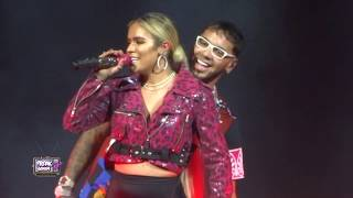 Karol G Anuel Aa Latin Grammys 2018 Full Performance And Kiss