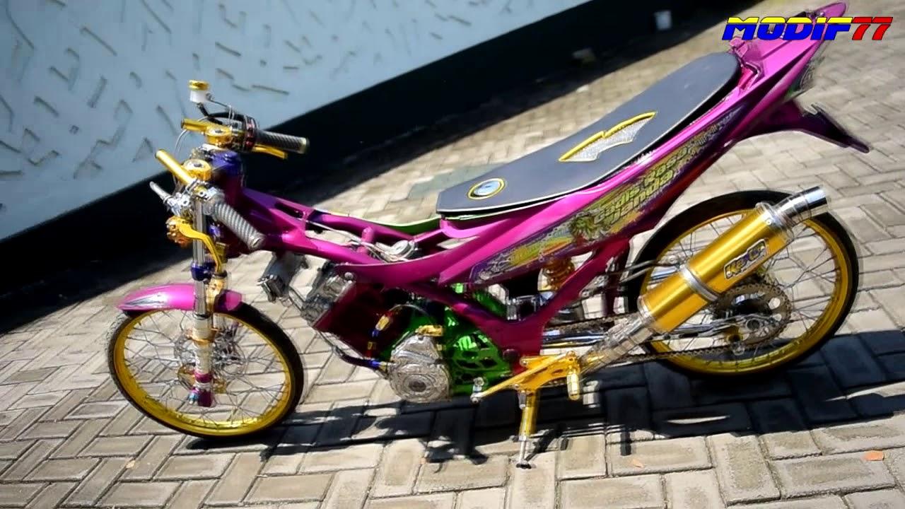Satria Solid Pink Pasuruan 150 cc modif77 by modif77 TV