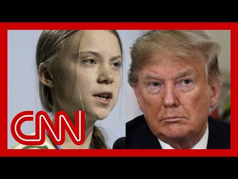 Trump mocks Greta