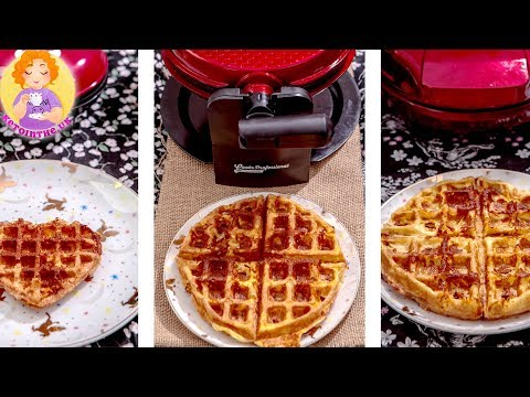 3 Levels Of Waffle Makers Review: HOW TO MAKE CHAFFLES Keto BEST In A Regular Waffle Maker