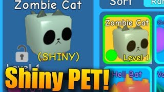 DOSTAL JSEM SHINY PETA!😱 | ROBLOX: Bubblegum Simulator #11