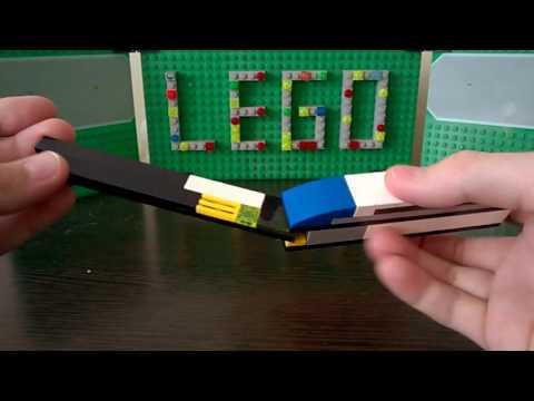 видео: Складной нож из lego