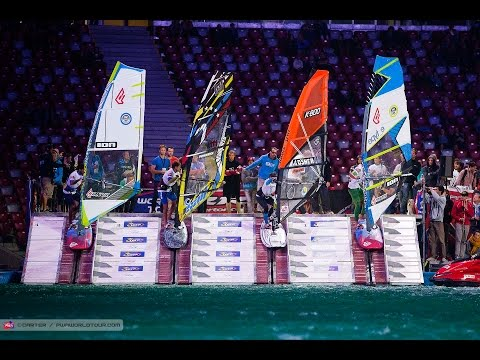 Warsaw PWA Indoor World Cup 2014 - Friday night, heats and eliminations