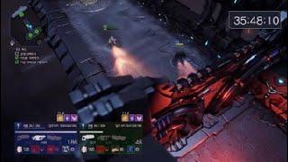 ps4 에일리어네이션 아크함선 4단계 멀티플레이 영상!