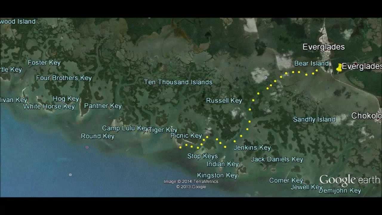 Map Of Islands Near Florida