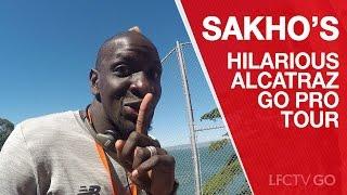 Mamadou Sakho's hilarious GoPro tour of Alcatraz
