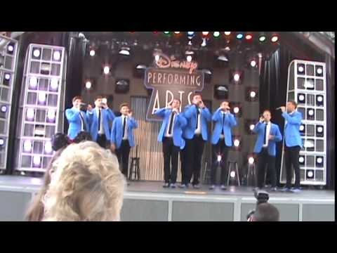 BYU Vocal Point Disneyland Performance 2