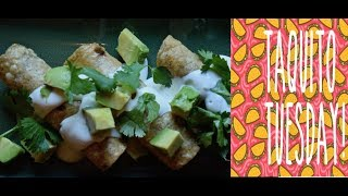 Rick Bayless Taco Tuesday: Crispy Scallop Taquitos