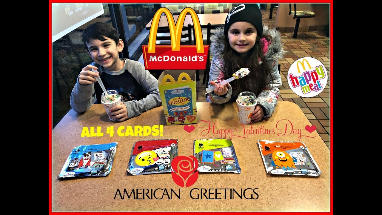 Mcdonalds american greetings valentines day cards all 4 feb mcdonalds american greetings valentines day cards all 4 feb 2018 m4hsunfo