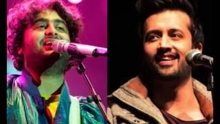 atif aslam vs arijit singh live performance 2016 ifa award 2016