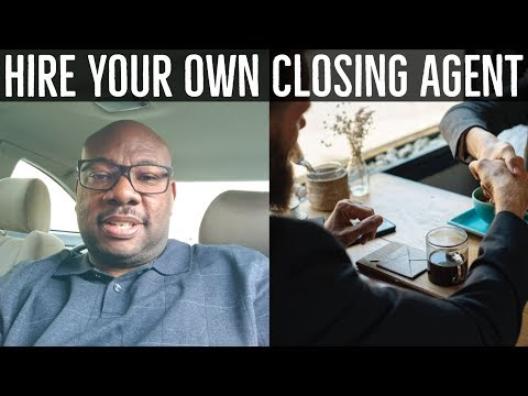 $250 Escrow Agent or Closing Agent - 10 to 15 day Real Estate Closings