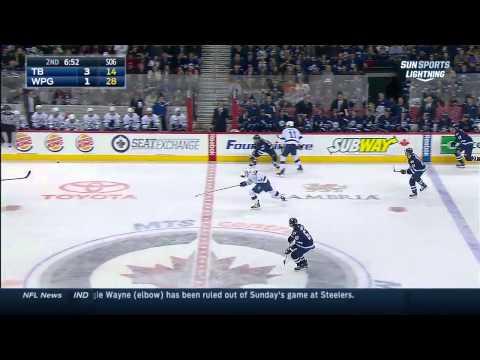 NHL 2014 10 24 Tampa Bay Lightning Vs Winnipeg Jets