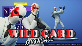 Fortnite WILD CARD Showcase