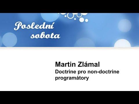 Martin Zlámal: Doctrine pro non-doctrine programátory