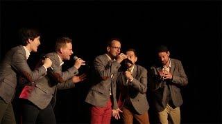 Sixtones singing Aladdin Medley live @ Eötvös10 Original lyrics: Ho...