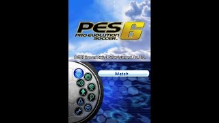 Pro Evolution Soccer 6 (NDS) - World Tour Longplay