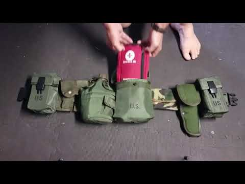 Old School War Belt Setup - The ALICE Battle Belt
