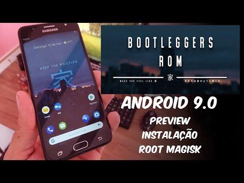 BootleggersROM V4 0 ANDROID 9 OFICIAL PREVIEW & INSTALAÇÃO