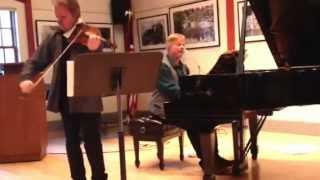 Iiro Rantala (piano) and Jaakko Kuusisto (violin) - Rondino by Jean Sibelius