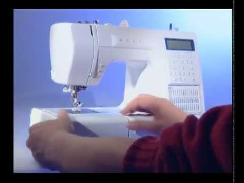 Veritas 9000 a5 sewing machine youtube for Silvercrest macchina da cucire