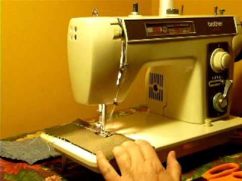 Brother Model 40 Sewing Machine YouTube Inspiration Vintage Brother Sewing Machine Manual