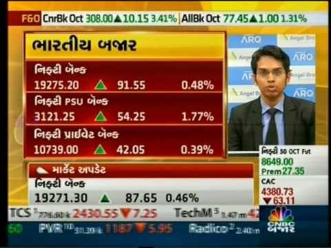 CNBC Bajar Closing Bell, 30 Sept 2016 - Mr. Ruchit Jain, Angel Broking